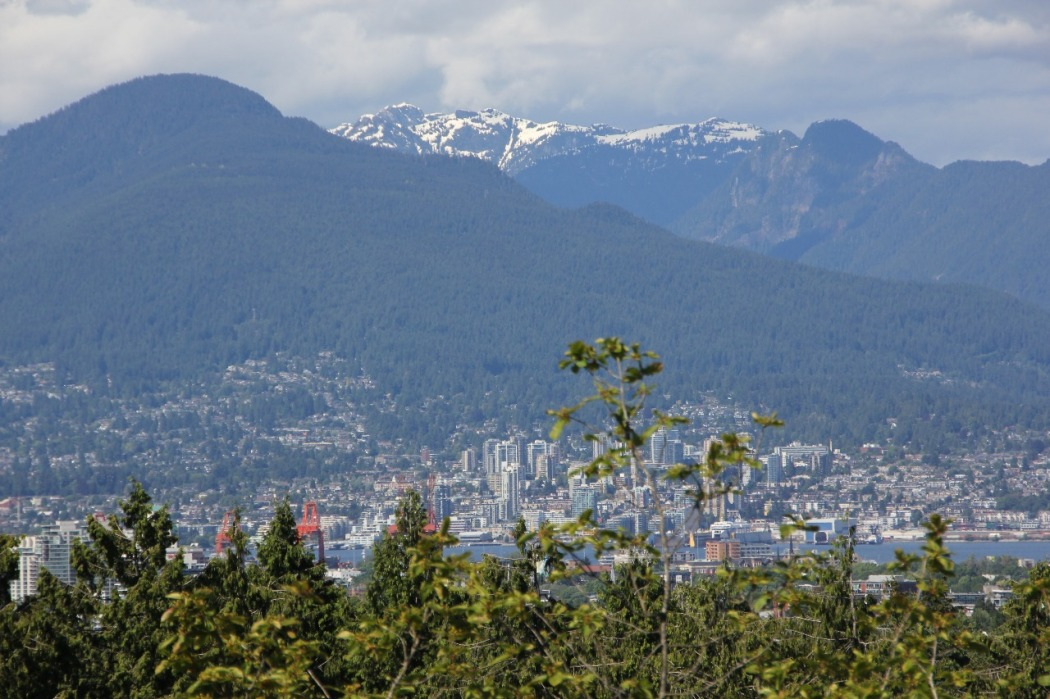 Vancouver vista do Queen Elizabeth Park