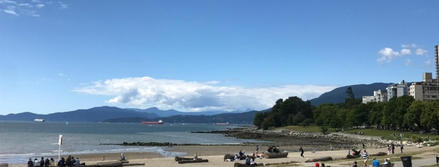 Vancouver English Bay Beach