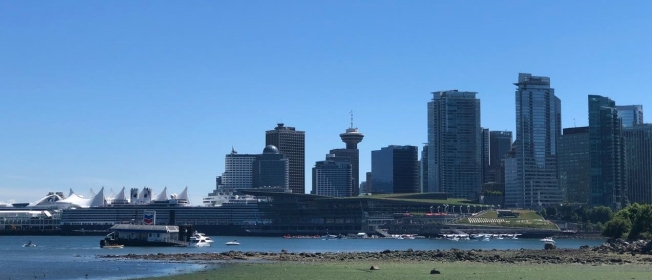 Vancouver Skyline - Canada Place