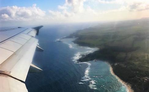 Ilhas Mauricio - vista aérea
