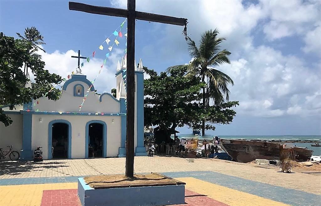 Igreja - Praia do Forte - Bahia