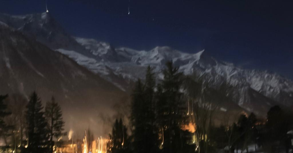 Noite Chamonix
