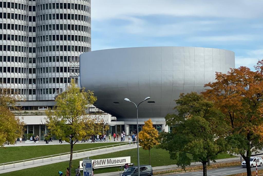 Museus BMW em Munique ALemanha