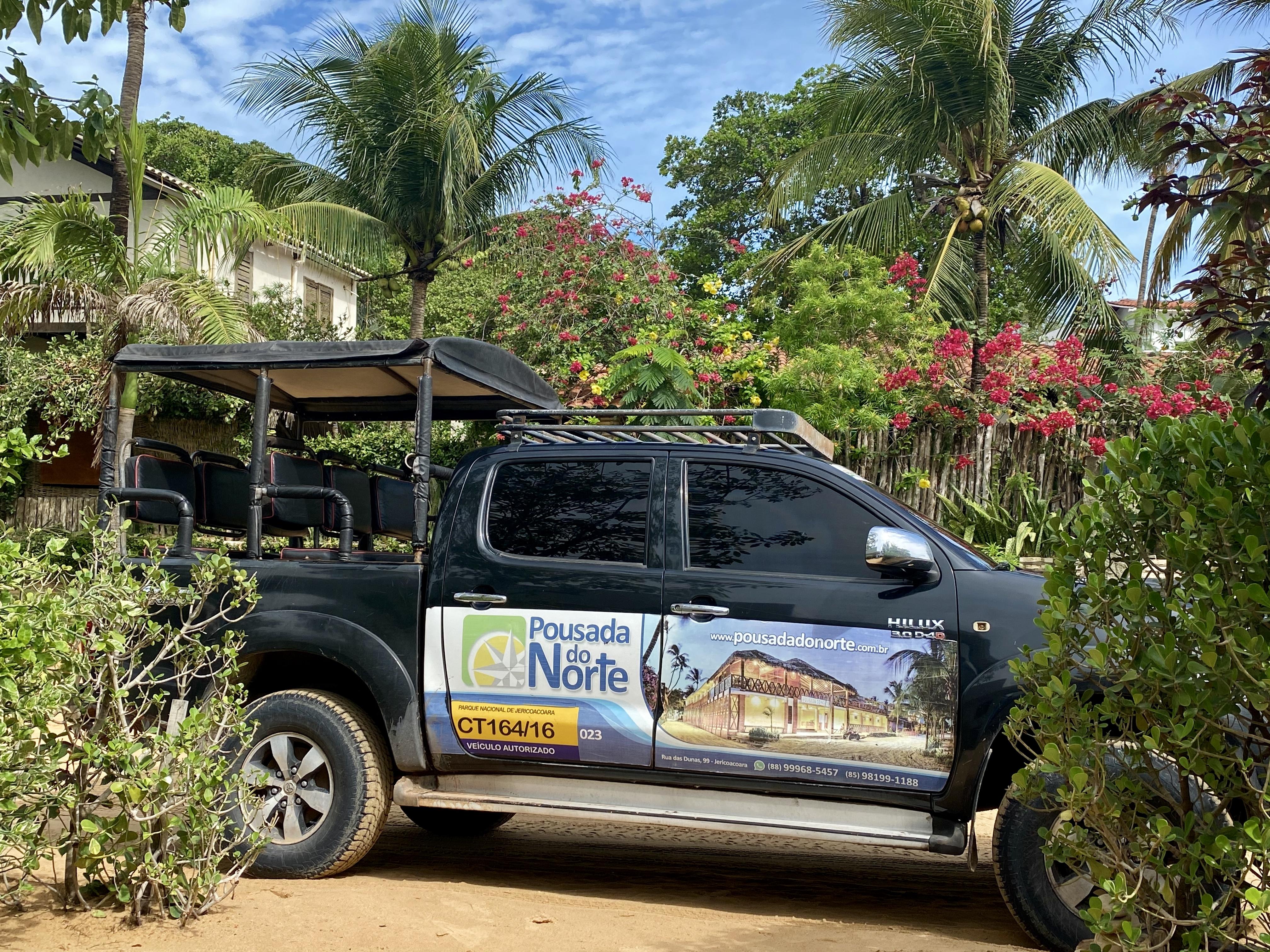 jardineira transporte em jericoacoara