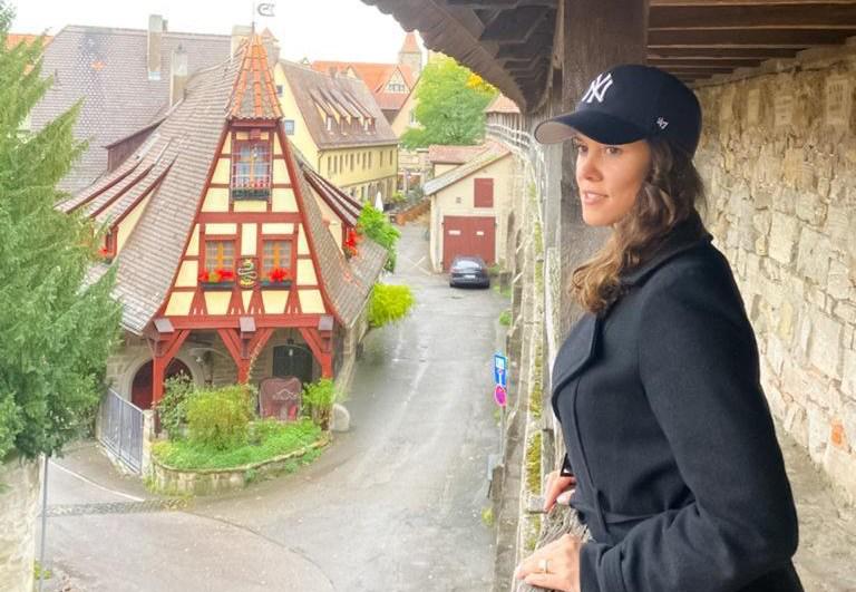 Rothenburg ob der Tauber cidade medieval mais bonita da alemanha